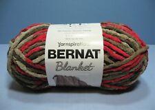 New ListingBernat Blanket Yarn 5.3 oz Skein in Raspberry Trifle