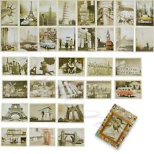 Lot of 32 Travel Postcard Vintage Landscape Photo Picture Poster Post Cards