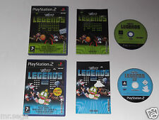 TAITO LEGENDS & TAITO LEGENDS 2 for the PLAYSTATION 2 'VERY RARE & HARD TO FIND'