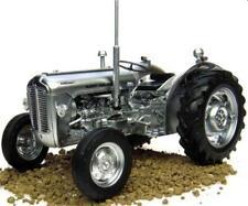 Universal Hobbies Massey Ferguson 35x Chrome / Brushed Silver Edition