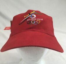 Beijing China 2008 Olympics Strap-back Black Cap Hat