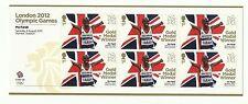 UK stamps 2012 Olympic Games Sheet - Mens 10,000 Metres - 6 x 1st Class Mo Farah