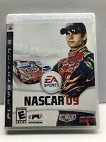 NASCAR 09 (Sony PlayStation 3, 2008) Complete w/ Manual - Tested Working