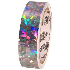 Tape Planet Sparkle Confetti 1 inch x 10  yards Metalized Polyester Tape