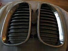 BMW GENUINE FRONT GRILLE CHROME SET  E60  E61 5 SERIES