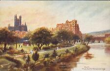 Raphael Tuck & Sons Unposted Collectable Somerset Postcards