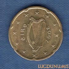 Irlande 2007 20 centimes d'euro SUP SPL Pièce neuve de rouleau - Ireland
