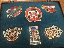 Target Scotch Indy Car Racing 1991 Pin set