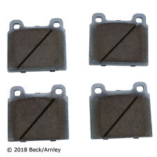 Disc Brake Pad Set Front Beck/Arnley 085-0258