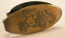 Small Vintage Tie Bar Clip McCord Motors Antique Old Car Tiny