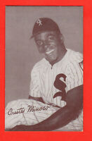 Orestes Minoso 1947-66 Vintage/Original  Exhibit card