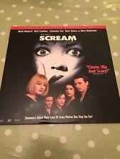 Scream Directors Cut Laserdisc NTSC