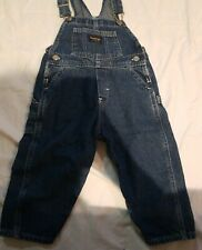 Oshkosh vintage overalls Sz 24m Boys Jean In Good Condition!