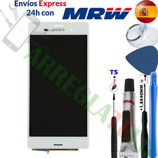 PANTALLA PARA Sony Xperia Z3 D6603 Blanca TACTIL LCD Completa DISPLAY White