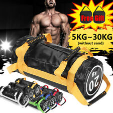 55lbs Weighted Training Bag Fitness Power Sandbag Gym Weight Lifting Workout