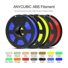 Anycubic Premium 3D Printer Filament 1kg/1.75mm ABS TPU Black White US stock
