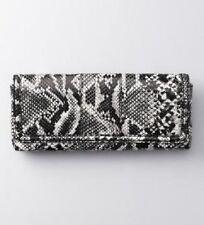 NWT Ann Taylor Loft Snake Print Clutch