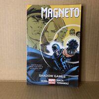 Magneto Volume 3 : Shadow Games - Marvel Comics Trade Paperback Graphic Novel