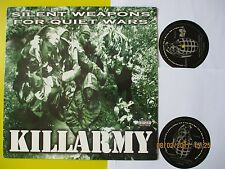 KILLARMY 2LP 33 TOURS SILENT WEAPONS FOR QUIET WARS WU TANG RECORD 1997 US PRESS