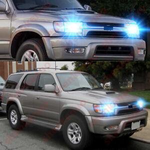 For Toyota 4Runner 1999 2000 2001 2002 - 2pc 8000K LED Headlight Bulb Hi/Lo Beam