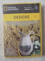 30074 - National Geographic Designs [NEW / SEALED] - PC (2002) Windows XP