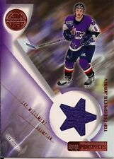 Jay McClement RC 2000-2001 Upper Deck Prospects Top Prospect Jersey Card-Blues
