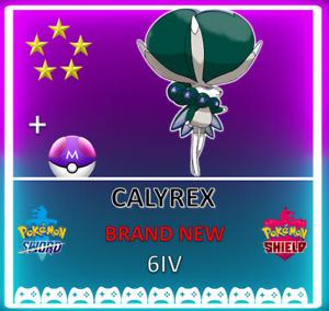 Pokemon Sword & Shield ! 6IV CALYREX! BRAND NEW! CROWN TUNDRA DLC