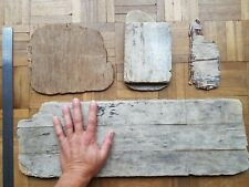 4 DRIFTWOOD PIECES WEATHERED PLY  - GOWER