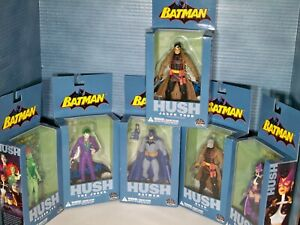 Batman Hush Figures Wave 1 set of 6 With Jason Todd ToyFare Exclusive 2003