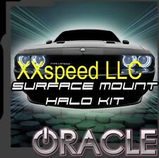 ORACLE Dodge Challenger 08-14 WHITE Surface Mount LED Headlight Halos Waterproof