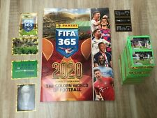 PANINI ALBUM FOOT FIFA 365 2020 +LES 448 STICKERS  . COMPLET