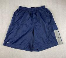 New listing NIKE Blue Nylon Swim Trunks Shorts Mens L