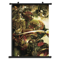 Overlord Anime Wall Art Home Decoration Scroll Poster