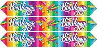 Oaktree BON VOYAGE Travel Retirement Good Luck Foil Banner Party Decoration 9ft