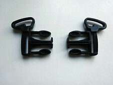 2x BUGABOO Cameleon CLIP PART for waist harness/strap Seat/Carrycot Unit Frame