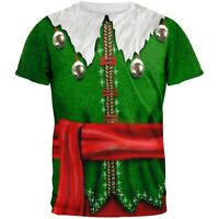 Elf Costume All Over Adult T-Shirt