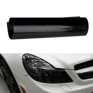 Black Auto Car Sticker Fog Light HeadLight Taillight Tint Vinyl Film Decal Sheet