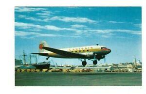 CARIBAIR ISSUED DC3 POSTCARD