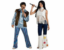 Sonny and Cher Couples Costume Set