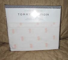 Tommy Hilfiger pale pink pineapple XL Twin sheet set extra long 3 pc packaged