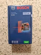 Bosch Gll 30 S Self-Leveling Cross Line Laser - New in Box
