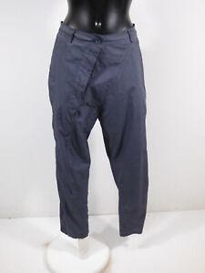 RUNDHOLZ Damen Hose in Gr L / Blau Grau Modern und NEU  ( R 7047 )