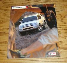 Original 2005 Toyota 4Runner Sales Brochure 05