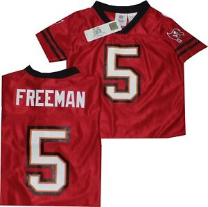 New Josh Freeman Tampa Bay Buccaneers Outerstuff YOUTH Jersey 8-20 Clearance $22