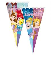 Disney Princess Cone Party Cello Bags - Sweet Candy Cones - Birthday Favours Bag