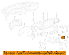 GM OEM Overhead Roof Console-Indicator 25828898