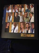 """Grey's Anatomy"" DVD 2017 Pressbook Emmy FYC NEW 2 Episodes Season 13 ABC"