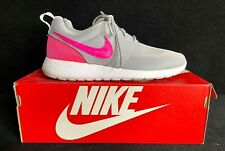 Women'S Nike Roshe One (Gs) Size 7 Youth - Wolf Grey/ Hyper Pink - #599729