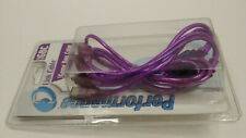 🌟NEW NIB RARE🌟 GAME BOY COLOR LINK CABLE GBC ACCESSORIES CLEAR ATOMIC PURPLE