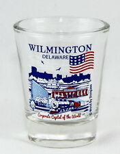 WILMINGTON DELAWARE GREAT AMERICAN CITIES COLLECTION SHOT GLASS SHOTGLASS
